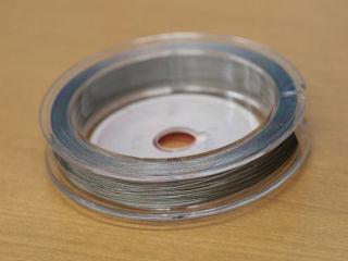 パールネックレス用のステンレス製ワイヤー糸