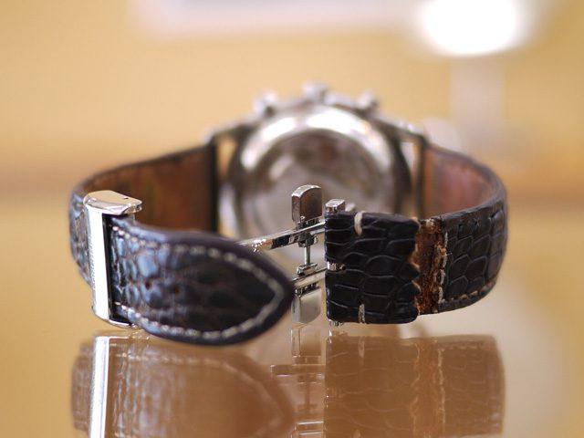 ロンジンの時計ベルト交換byモレラート