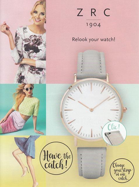 女性向けのカラー(腕時計用バンド)